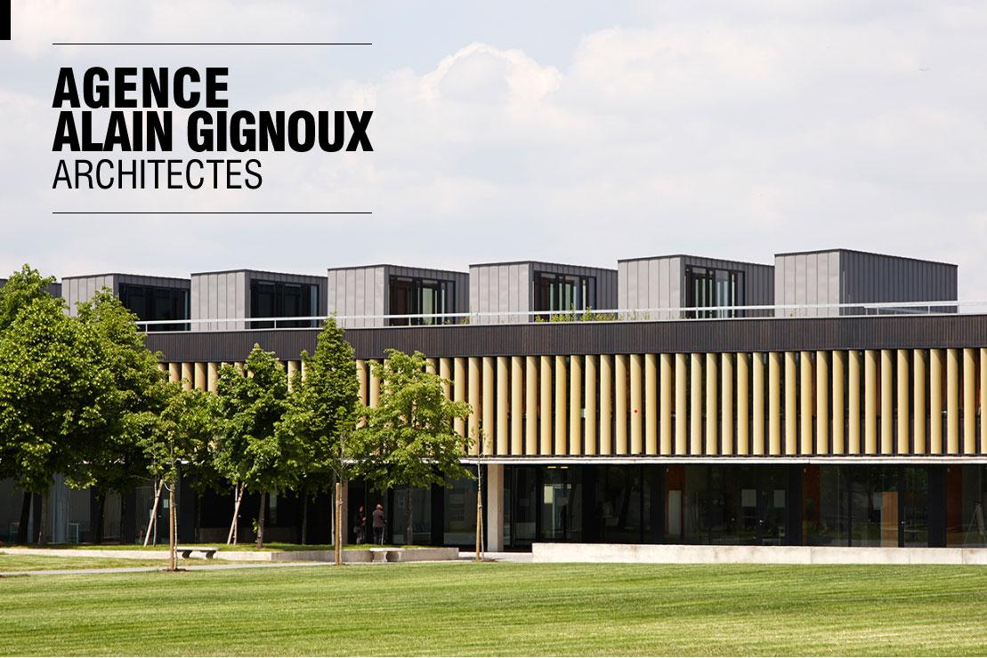 Agence Alain Gignoux, architectes ~ Lycee Claude Nicolas Ledoux Pavillon Sous Bois