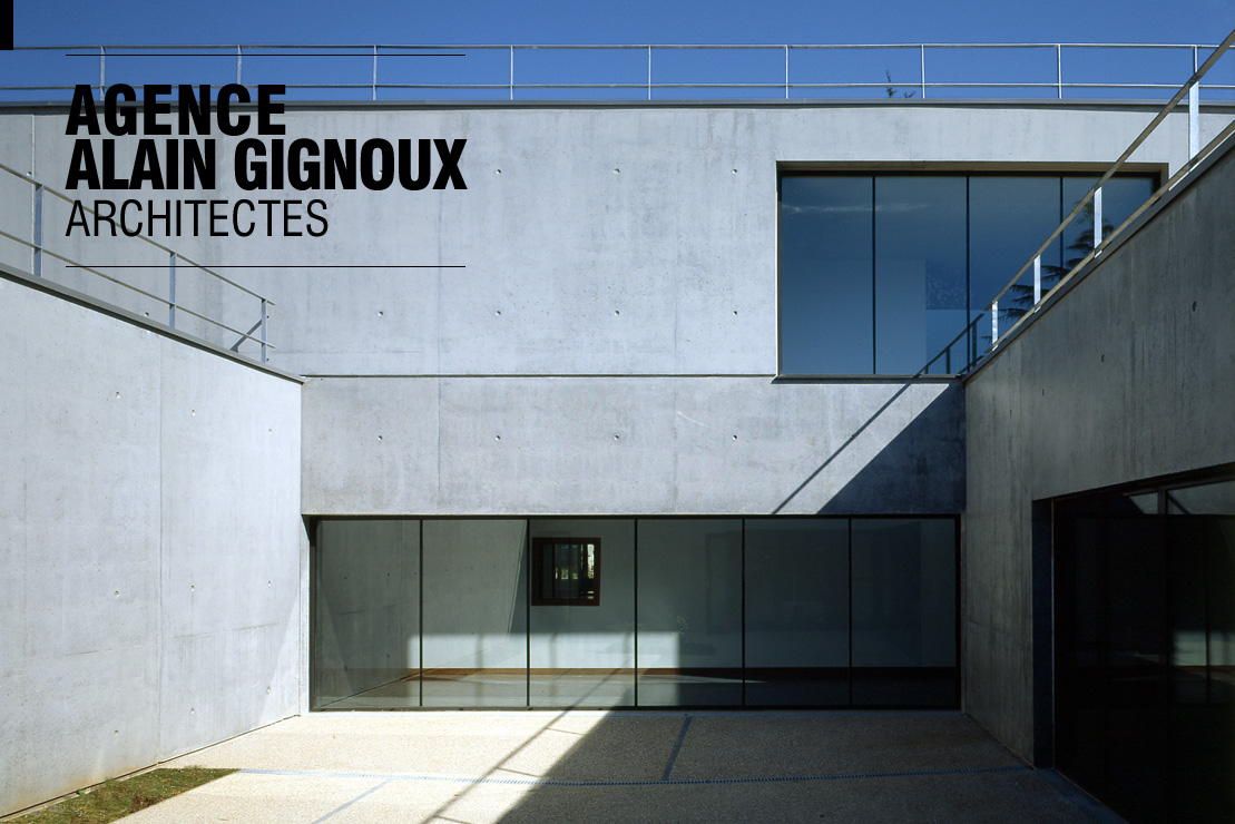 Agence alain gignoux architectes for Alain elie architecte